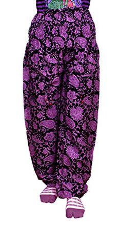Krishna Mart Cotton Floral Harem Yoga Trouser Boho Gypsy Pant India Krishna Mart India http://www.amazon.com/dp/B00T7DNOTU/ref=cm_sw_r_pi_dp_fsdAvb1QVV4FE