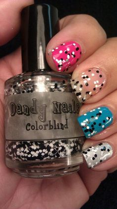 Love this nail polish. Colorblind by DandyNails. $8