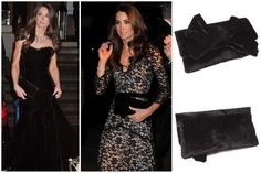 Kate Middleton chooses Pretty Ballerinas wearing a lovely clutch bag