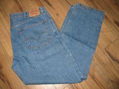 Levis 505 Mens Jeans Classic Straight Fit 40X32 #Levis #ClassicStraightFit