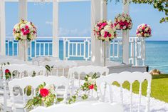 Elegant flowers adorn your table settings while your wedding guests take in the beauty of La Romana in the Dominican Republic. Dreams Resorts, Spa Offers, Elegant Flowers, Us Beaches, Dominican Republic, Resort Spa, Beach Resorts, Table Settings, Anniversary
