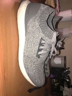 555e77010 Grey Adidas Ultra Boost Uncaged. No Defects!! Size 12.5  fashion  clothing