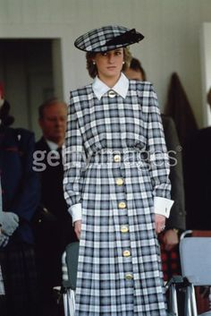 Princess Diana, at Braemar for the Highland games