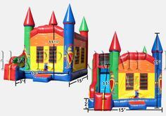 Inflatable Interactive Games: The Bouncy Castle of your Dreams