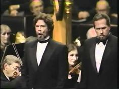 Samuel Ramey as Grand Inquisitor and James Morris as King Philip... | opera. Listen to this. Gives me chills.