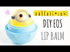 I am sorry if I didn 't write it well♡ Eos Products, Best Makeup Products, Bath Products, Eos Diy Crafts, Homemade Beauty, Diy Beauty, Beauty Hacks, Minions, Eos Chapstick