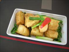The Modern VEGETARIAN - Recipes: Stir-Fried Tofu with Spring Onion