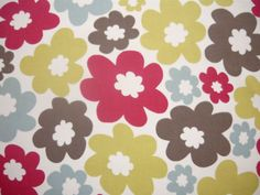 Clarke and Clarke Anja Rouge | Textile Express | Buy Fabric £10