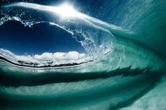 Inside the wave ...