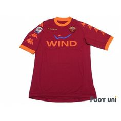 6a6922a72 AS Roma 2010-2011 Home Shirt  16 De Rossi Serie A Tim Patch Badge w tags