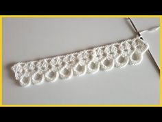Crochet Border Patterns, Crochet Shoes Pattern, Crochet Designs, Crochet Lace Collar, Crochet Lace Edging, Crochet Diagram, Crochet Poppy, Crochet Cord, Crochet Bookmarks