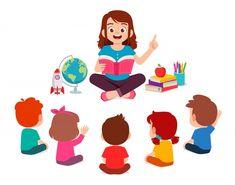 Happy cute little kids boy and girl study with teacher , Worksheets For Kids, Activities For Kids, Disney Princess Cartoons, Nurse Art, Looney Tunes Bugs Bunny, School Clipart, Cute Sheep, Retro Cartoons, Kids Class