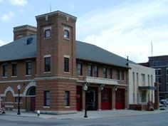 Central Fire Station.  Burlington, Iowa.  http://setcomcorp.com/fire.html This is the building I had in mind as the converted firehouse that houses McKenna Custom Coaches. However, it is still operational, so the photos that follow show other conversions.