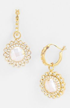 Freida Rothman 'Hamptons' Sunflower Drop Earrings available at #Nordstrom