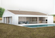loveartlife - 0 results for architecture Residential Architecture, Amazing Architecture, Architecture Design, Simple House Plans, Prefab Homes, Home Deco, Bungalow, New Homes, House Design