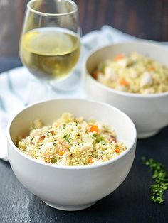 One Pot Chicken Bacon Couscous via @showmetheyummy