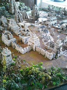 Lizardmen tempel-city