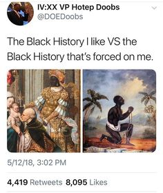 We only learned about the suffering and briefly at that. While slavery and civil rights movement etc are crucially important, I want to learn about the greatness too. Memes, Black History Facts, Equal Rights, The More You Know, Faith In Humanity, Social Issues, Black People, Black Is Beautiful, Social Justice