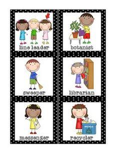 Classroom-Helpers-Set-FREE-1319572 Teaching Resources - TeachersPayTeachers.com