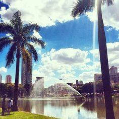 O Parque Sulivan Silvestre, também conhecido como Parque Vaca Brava, está localizado na cidade de Goiânia! Uma ótima opção de Área Verde para os goianos e visitantes! Foto: @martagurgel.