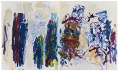Trees, 1990-1991, by Joan Mitchell