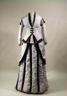 Visiting Dress   c. 1875