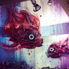 """""""nemo reminder"""" Street Art, Instagram Posts, Pictures, Painting, Photos, Photo Illustration, Painting Art, Paintings, Painted Canvas"""