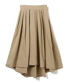 Pilgrim Surf+Supply(ピルグリム サーフ+サプライ)MADISONBLUE / Tuck Volume Skirt(スカート マキシ・ロング丈スカート)通販|BEAMS