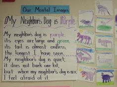 Mrs Jump's class: Creating Mental Images