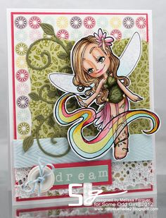 some odd girl pixie | Our last Fairy digi – sending Rainbows of LOVE!