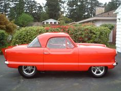 1961 Nash Metropolitan custom...  love the big look on a small car!