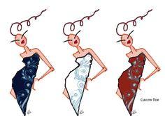 Les DeMoiZelles - illustrations by Carolynn-Dewi Widmer