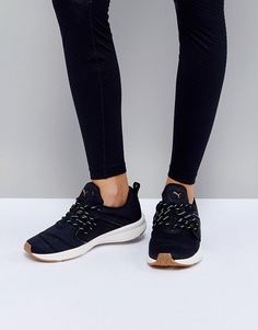 wholesale dealer 19ca9 23ee4 Puma Pulse Ignite Xt Sneakers In Black at asos.com
