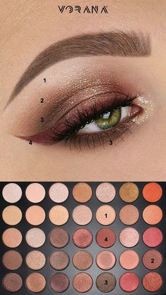 Eye make-up ideas: See models with Morphe brushes. Makeup Goals, Love Makeup, Makeup Inspo, Makeup Inspiration, Makeup Ideas, Buy Makeup, Morphe 35o, Makeup Morphe, Skin Makeup