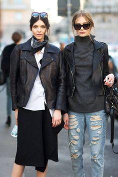 Street Style Milan Fashion Week Street Fall 2014 - Milan Street Style - Harper's BAZAAR