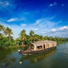 Kerela - one of my favourite places - been on the rice barge