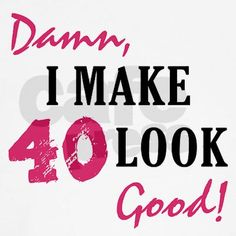 40 Birthday Ideas for Women | Hot 40th Birthday Tank Top by birthdaybashed