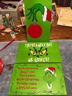 Grinch signs
