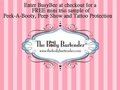 The Body Bartender For The Pin Up Girl In You And BusyBeeBlogger.com DEAL FOR READERS