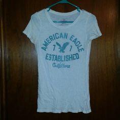 Medium American Eagle Short Sleeve Shirt Lightly worn. Like new. Reasonable offers accepted. American Eagle Outfitters Tops Tees - Short Sleeve