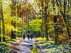 How To Paint Woodland Foliage