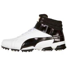 uk availability 94b84 8e81e PUMA Titan Tour Ignite High Top Golf Shoes Built on the TITANTOUR IGNITE  foundation and constructed