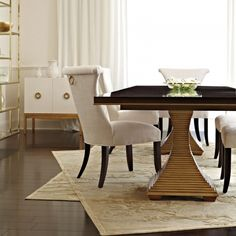 Double Pedestal Dining Table | Bernhardt