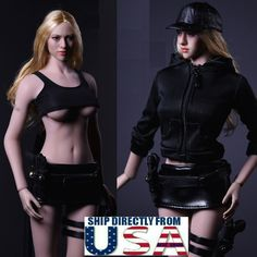"1//6 Lingerie Set /& High Heels For 12/"" TBLeague PHICEN Hot Toys Figure❶USA❶"