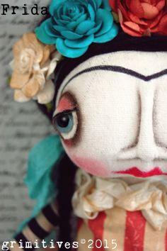 frida blue eyes by kaf of grimitives©2015 www.grimitives.com