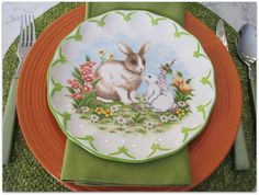 JBigg's Little Pieces: Easter Scape With Rabbits & Eggs http://jbiggslittlepieces.blogspot.com/2016/03/easter-scape-with-rabbits-eggs.html