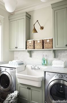 I want this laundry room!