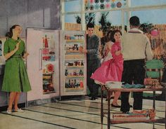 vintage woman in kitchen picture - Bing Images