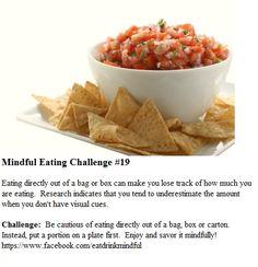 Mindful Eating Marathon #19