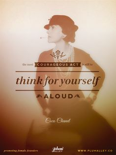 Inspiration from Coco Chanel